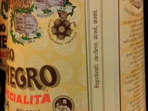 Amaro Montenegro, aromi chimici.