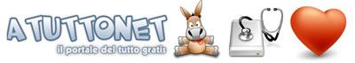 Banner Atuttonet, risorse gratuite