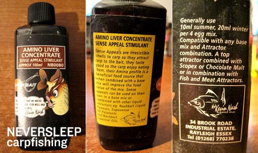 Amino liver concentrate, stimolante per carpfishing e boilies.