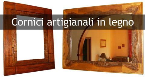 Cornici artigianali e cornici per specchi in legno - Cornici specchi roma ...