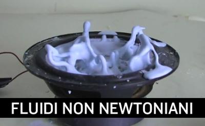 Fluidi non newtoniani.