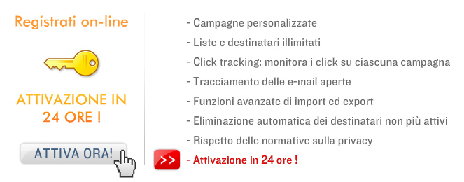 OpenDEM, il software per newsletter