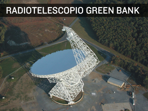 Radio telescopio Green Bank senza wi fi