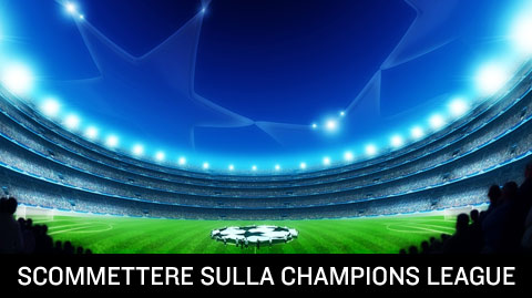 Scommettere online sulla champions league, quote e pronostici.