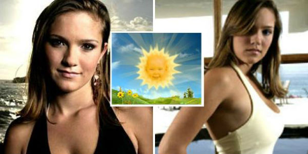 Jessica Smith, la bambina del sole che ride nel telefilm Teletubbies